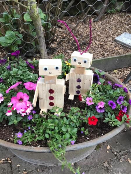 Robot-Feestje 8 kinderen